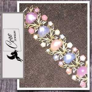 VTG Coro Bracelet Pastel Beautiful!